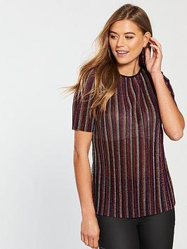 v-by-very-pleated-t-shirt-rainbow