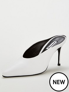 dune-london-daelynnbsppointed-toe-heeled-mule-white