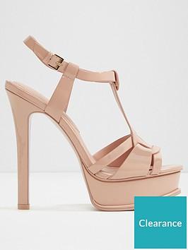 ed2ba79dddff Aldo Chelly Heeled Sandal - Light Pink