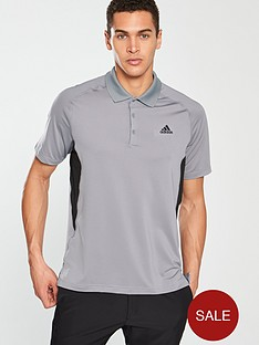 adidas-golf-ultimate-365-climacool-solid-polo-grey