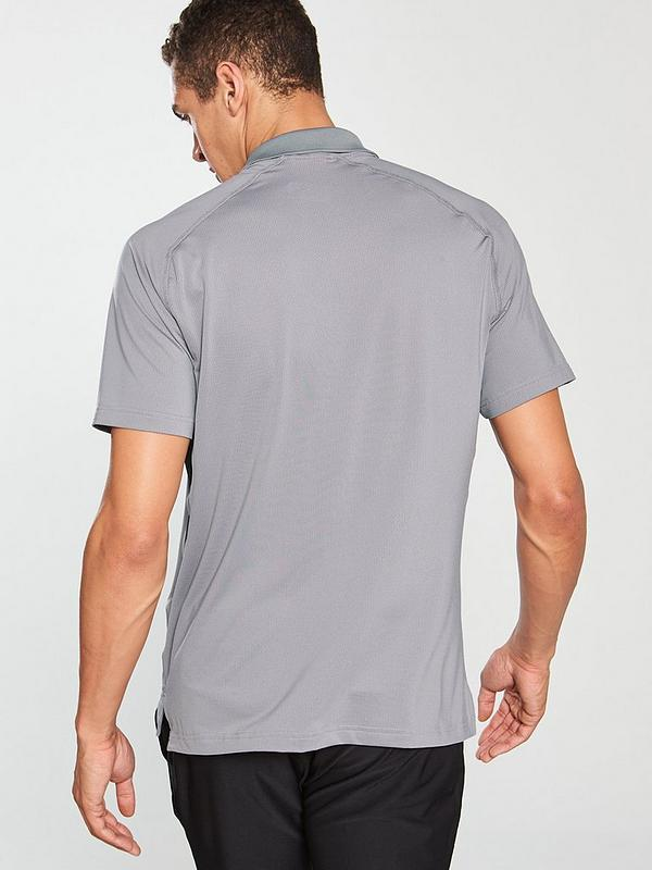 premium selection e5867 21a02 Golf Ultimate 365 Climacool Solid Polo - Grey