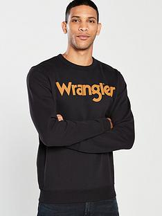 Wrangler Logo Crew Sweat e964b978e3f
