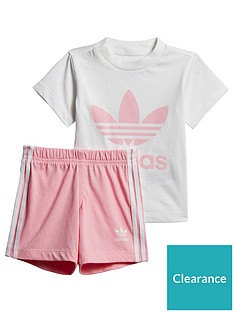 adidas-originals-adidas-originals-baby-girls-short-tee-set