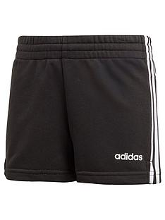 adidas-girls-3-stripe-shorts