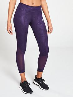 9e7ce9998054 adidas Own The Run Tight - Purple