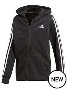adidas-boys-3-stripe-full-zip-hoodie-black