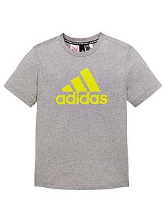 adidas-boysnbspbos-t-shirt-grey