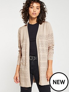 v-by-very-pointelle-stripe-edge-to-edge-cardigan