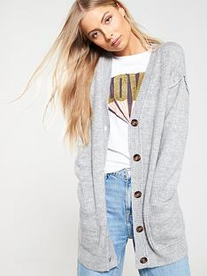 v-by-very-slouch-button-seam-cardigan-grey