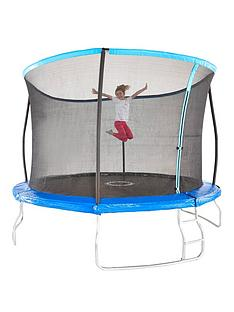 sportspower-14ft-trampoline-with-easi-store-folding-enclosure-amp-flip-pad