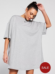 nike-sportswearnbspessential-dress-dark-grey-heathernbsp