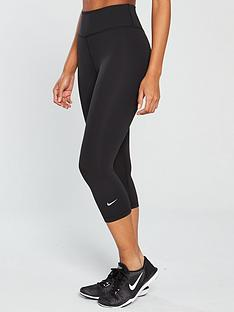 efb1e1310a2 Nike The One Capri Legging - Black