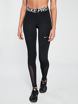 29196f88b2f72 Nike Training Pro Legging - Black | littlewoodsireland.ie