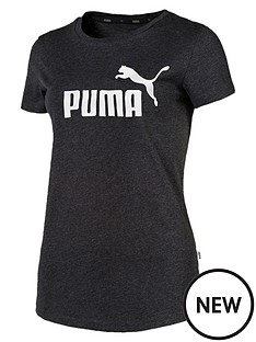puma-essentials-logo-tee-dark-grey-heather
