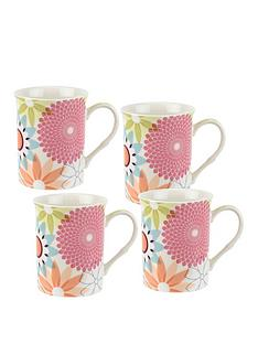portmeirion-crazy-daisy-set-of-4-mugs