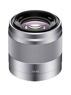 sony-sel50f18-e-50mm-f18-oss-lens-silver