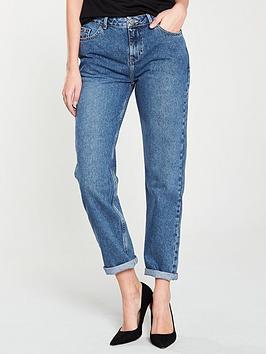e44766949439e3 V by Very Taylor Boyfriend Fit Jeans - Light Wash ...