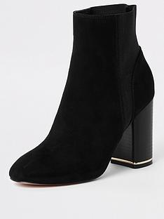 river-island-river-island-heel-detail-ankle-boot-black