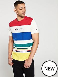 champion-champion-striped-crew-neck-t-shirt
