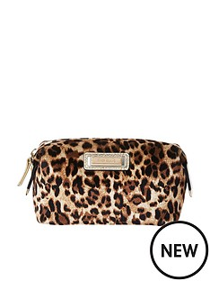 River Island Make Up Bag - Leopard 366078aea