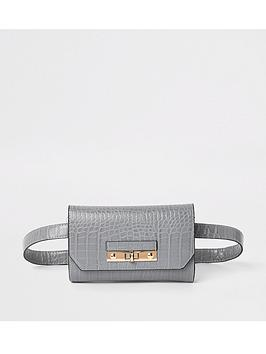 river-island-belt-bag-grey