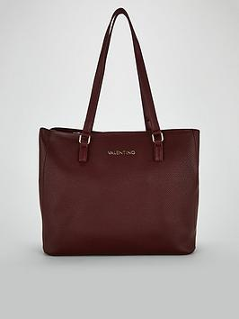 41bac092b4a Valentino By Mario Valentino Superman Tote Bag - Bordeaux |  littlewoodsireland.ie