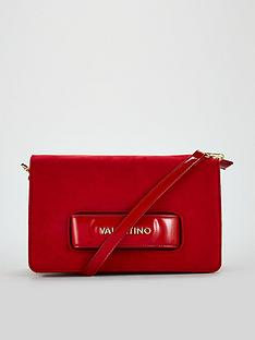 valentino-by-mario-valentino-scoop-suede-bag-red