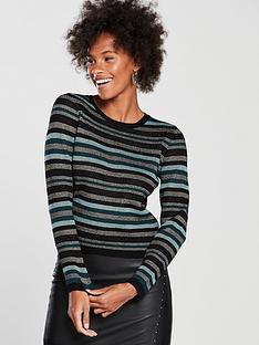 oasis-cassie-ariel-stripe-knitted-jumper