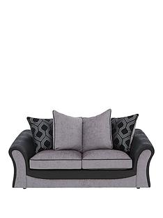 milan-fauxnbspleather-and-fabric-scatter-back-sofa-bed