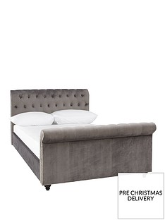 eva-fabric-scroll-bed-frame-with-mattress-options