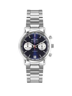 rotary-rotary-avenger-blue-and-white-detail-chronograph-dial-stainless-steel-bracelet-mens-watch