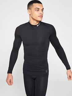nike-mens-nike-pro-compression-mock-long-sleeve-top