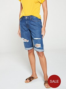 v-by-very-taylor-denim-shorts-dark-wash