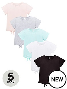 v-by-very-girls-5-pack-tie-up-jersey-tops-multi