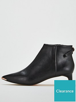 6f1229530 Ted Baker Amaedi Leather Ankle Boot