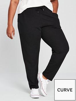 v-by-very-curve-value-straight-leg-jogger-black