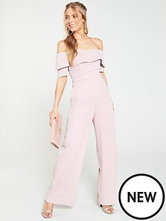 17ab1e7416 V by Very Bardot Wide Leg Jumpsuit