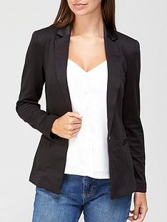 3b5b7d90e V by Very Ponte Jacket - Black