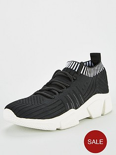 v-by-very-ava-knitted-lace-up-trainer-black