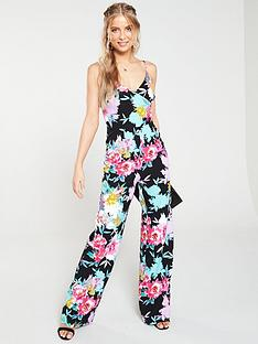v-by-very-printed-wrap-wide-leg-jumpsuit