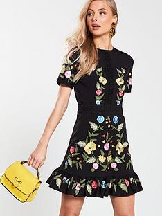 v-by-very-embroiderednbspflippy-hem-dress-dress