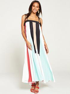 v-by-very-colour-block-pleated-maxi
