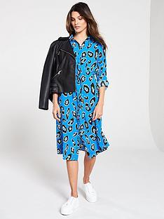 v-by-very-tie-waist-shirt-dress-blue-leopard