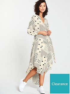 v-by-very-spot-print-maxi-dress