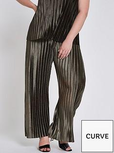 ri-plus-velvet-plisse-trousers--olive