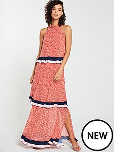 4c7ca20581f V by Very Tiered Chain Maxi Dress - Print