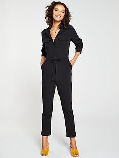 v-by-very-utility-jumpsuit-black