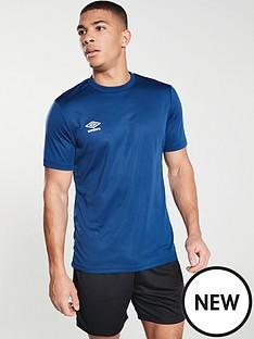 umbro-club-short-sleeved-training-t-shirt-navy