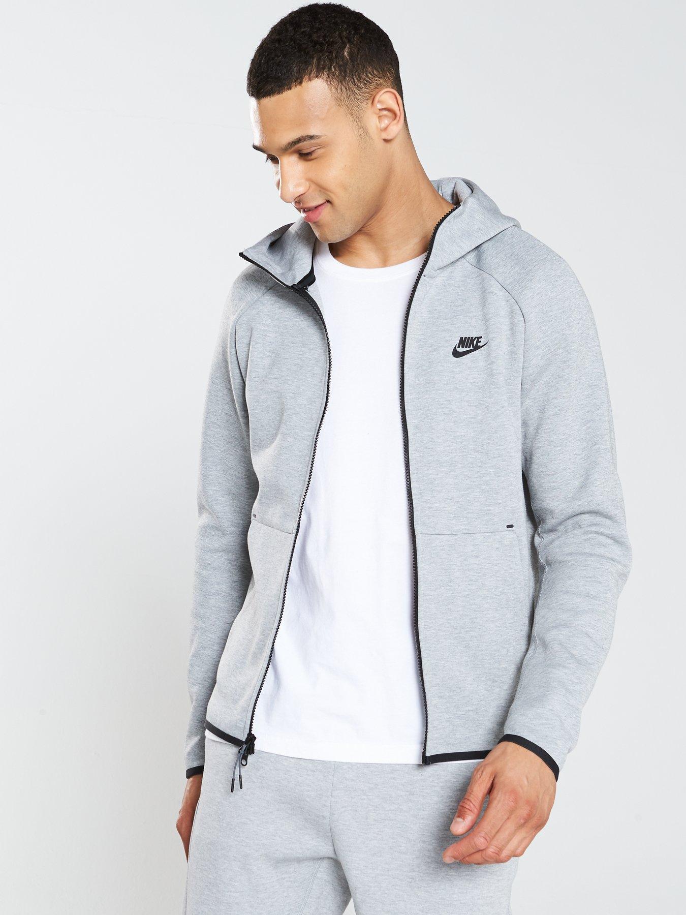 grey tech fleece tracksuit