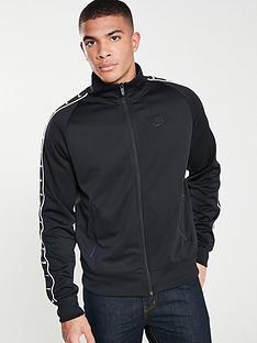 4b44b8d1f761 Nike Sportswear Statement Taped Track Jacket - Black